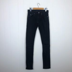 Guess Black Slim Tapered Jeans Sz 28